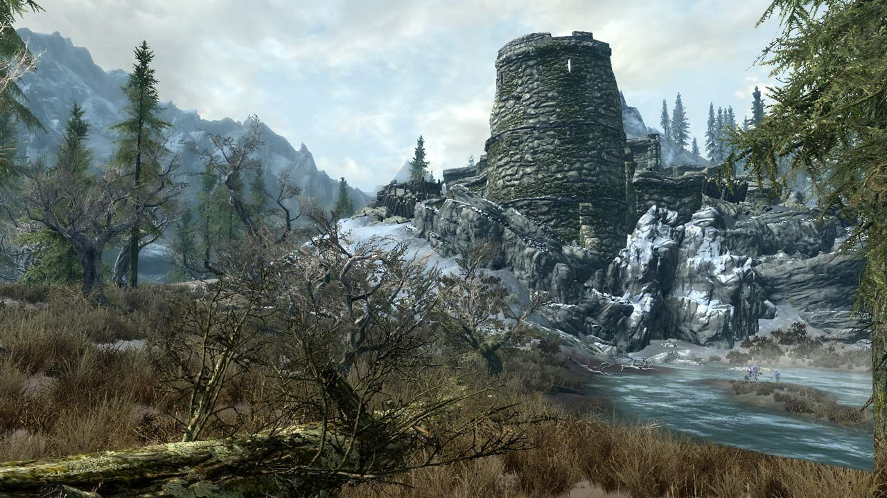 The Elder Scrolls V Skyrim Lil Ice fortress