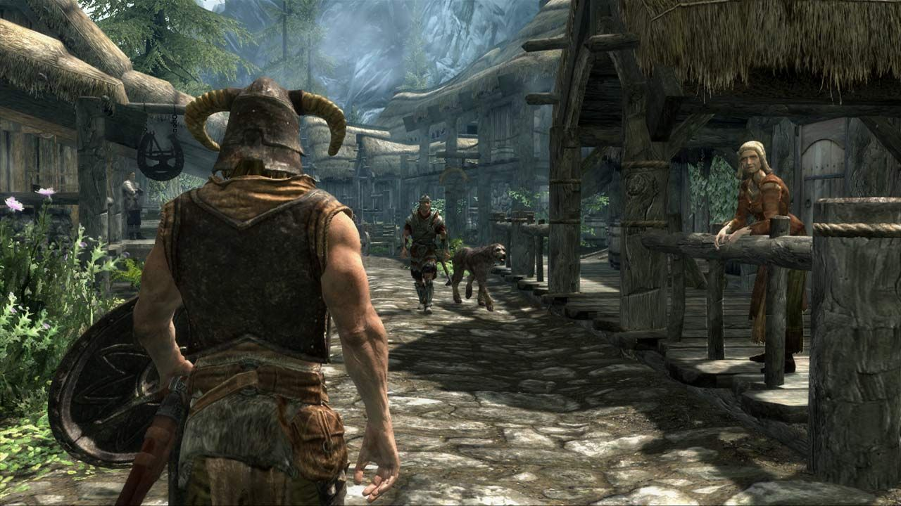 The Elder Scrolls V Skyrim morning commute