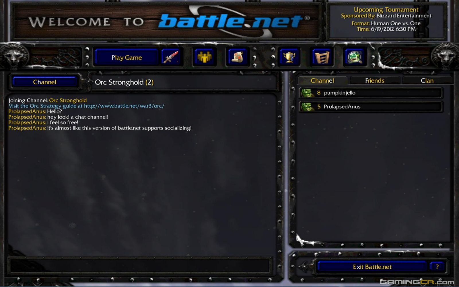 Warcraft III Battle.net