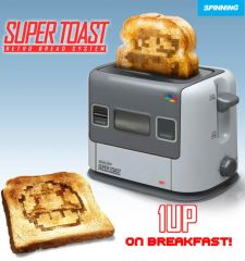 super Nes gaming toaster